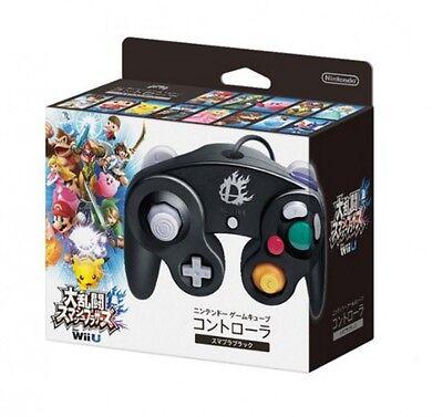 NEW Official Nintendo Super Smash Bros Classic Gamecube Controller Black Wii U