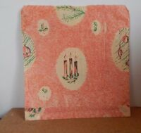 Vintage 1960's Christmas Themed Paper Bag Candles Holly Vintage Gift - vintage 1 - ebay.co.uk