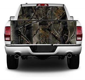 Camo Rear Window Decal EBay - Chevy rear window decals trucksharleydavidson rear window graphic decal lightning