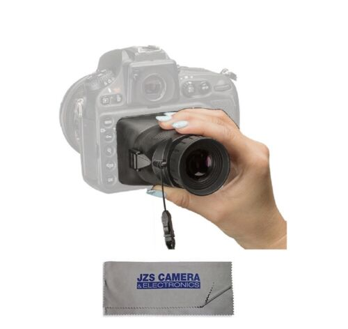 """Hoodman HoodLoupe® Outdoor Loupe for 3.2"""" LCD - H32MB With Cleaning Cloth"""