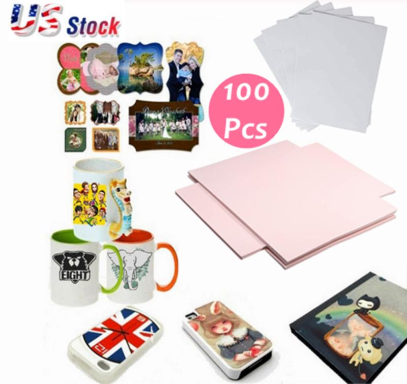 100 Sheets A4 Dye Sublimation Heat Transfer Paper for Mug Cu