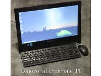 Lenovo C260 all-in-one PC with keyboard & mouse REFURBISHED + 3MONTHS WARRANTY