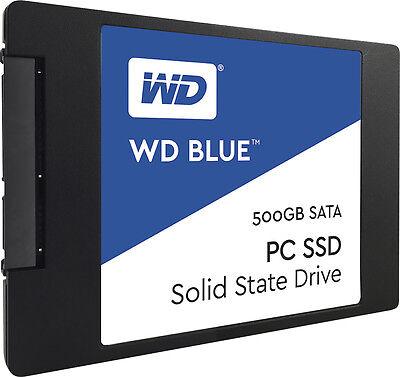 """WD Blue 500GB Internal SSD Solid State Drive SATA 6Gb/s 2.5"""" WDS500G1B0A (Bulk)"""