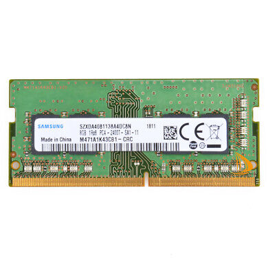Samsung DDR4 8GB PC4-2400T Laptop RAM Memory Module - M471A1K43CB1 CRC SODIMM...