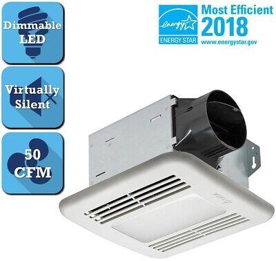 Delta Bathroom Exhaust Fan Air Ventilator Venting 50 CFM Cei