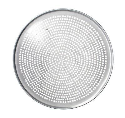 Browne Foodservice 575354 14 Perforated Pizza Pan Aluminum