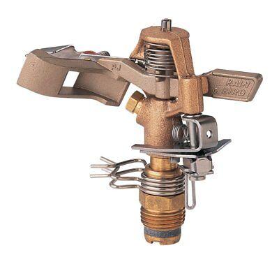 Rain Bird 25PJDAC Brass Impact Sprinkler, Adjustable 20° - 360° Pattern,