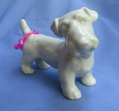 "1930 SEALYHAM CESKY TERRIER CZECHOSLOVAKIA 6"" DOG"