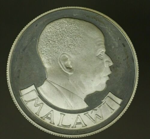 Malawi Silver Crown - 5 Kwacha 1978  Conservation - Zebras  UNC   A778