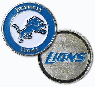 New NFL Detroit Lions Golf Ball Marker + Free Bonus