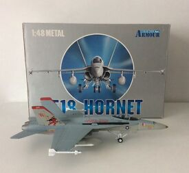 Collection Armour Hornet U.S. Marines Metal Diecast Model 1:48