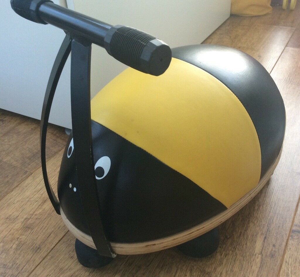Toddler bee ride on. Used. Just a few scuff marks.