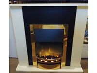 Dimplex Electric Fire Suite (New/Never installed)