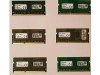 4GB DDR3/DDR3L 8GB DDR3/DDR3L 1600Mhz, 2400Mhz DDR4 iMAC RAM