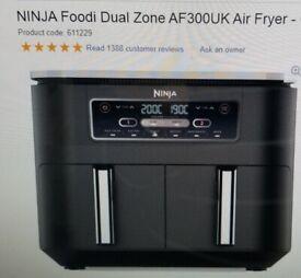 Ninla dual air fryer brand new boxed