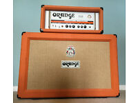 Orange TH100 with PPC212 2x12 Cab and cables - Condition *VERY GOOD* - guitar amp/head/cabinet