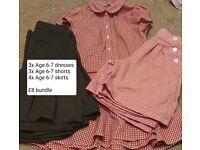 School uniform Age 6-7 (girls) bundle