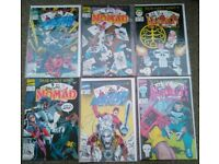 Marvel Comics Dead mans Hand Complete Story Nomad, Punisher, Daredevil Crossover