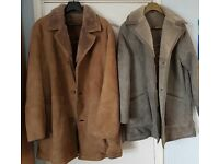 Men's and Ladies sheepskin coats