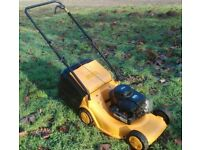 Compact Light McCulloch Briggs and Stratton Petrol Lawnmower Serviced
