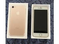 iPhone 7 32GB Gold Unlocked to all networks