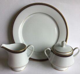 Noritake Platinum Tea Set with Serving Plate