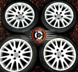 "##CHEAP## 17"" Genuine Audi alloys Caddy Golf etc 5x112 good condition with tyres."