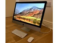 Apple 27-inch iMac (Late 2012) with 3 TB Fusion Drive in excellent condition