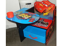 Boys Delta Children Disney Nitroade Bright Cars Kids Study Playroom Toyroom Chair Desk & Storage Bin