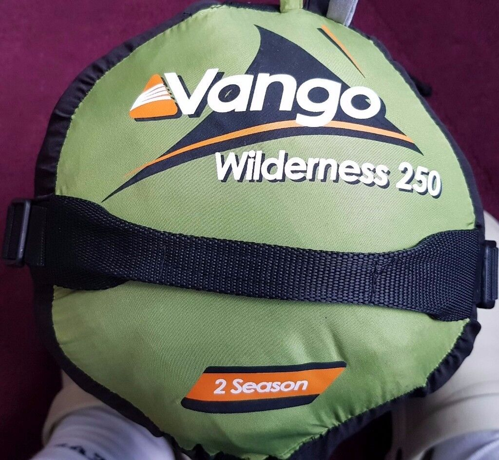 Vango Wilderness 250 sleeping bag, large