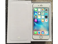 ABSOLUTE MINT CONDITION iPhone 6 16GB UNLOCKED ANY NETWORK With Free Power Bank, Cases & Extras