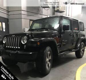 2017 Jeep WRANGLER UNLIMITED NOUVEL ARRIVAGE + TOUT ÉQUIPÉ