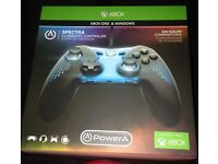 **SEALED** XBOX1 SPECTRA ILLUMINATED CONTROLLER, WITH 3.5MM AUDIO JACK, NEW FOR XBOX 1 & WINDOWS