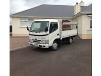 2009 Toyota Dyna 300 d4d pickup with tail lift only 64k miles psvd ready for work excellent condit