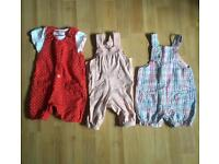 Summer clothes bundle for 3-6month girl