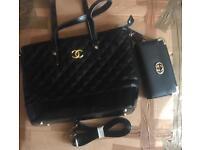 Handbag and purse sets