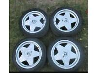 Rare Alloys BORBET A 17's pcd 4x100 all J7,5 ET35/ET30