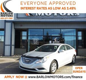 2011 Hyundai Sonata GLS*EVERYONE APPROVED* APPLY NOW DRIVE NOW.