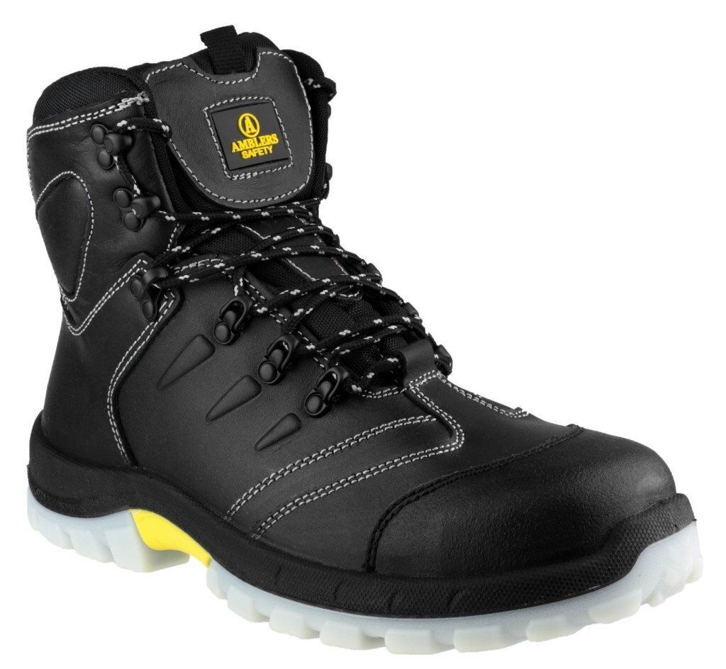 Amblers FS196 Mens Safety Boots Waterproof Steel Toe Cap & Midsole S3