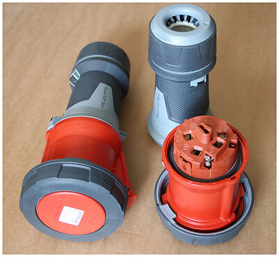 MENNEKES CEE-Kupplung PowerTOP Xtra 63A 400V 5-polig rot IP67 Typ 14212 NEU