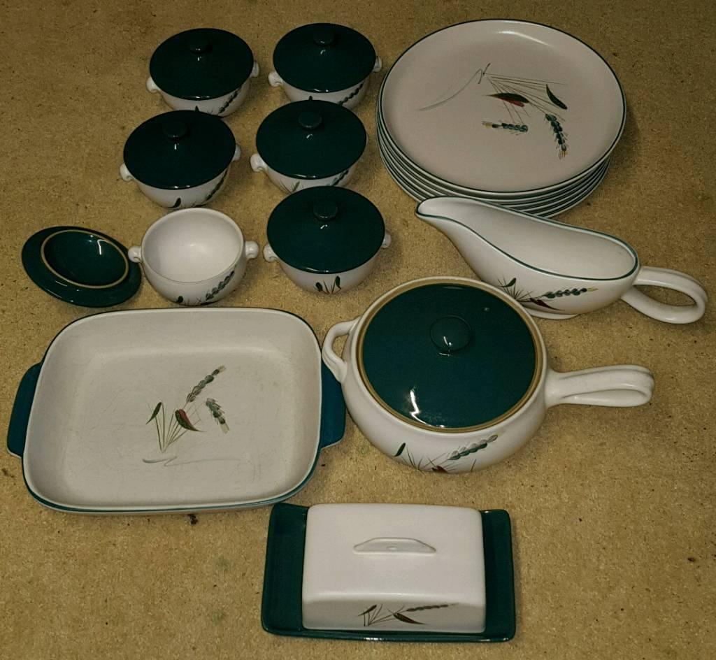 Denby dinner set