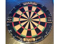 DART BOARD WINMAU PROFESSIONAL IN AS NEW CONDITION