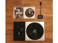 DJ Hero Game, Turntable and Dongle (PS3)