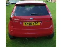 2008 Ford Fiesta - Petrol 1.4 Zetec Climate, 16V 3d 80BHP in Flame Red