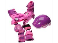 Brand new cosmic skates and protective gear