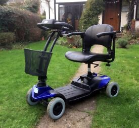 STRIDER ST#1 PORTABLE MOBILITY SCOOTER GOOD CONDITION HARDLY USED