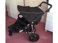 Out N About V3 Nipper 360 Double Buggy Pushchair