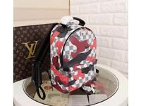 Lv camo backpack