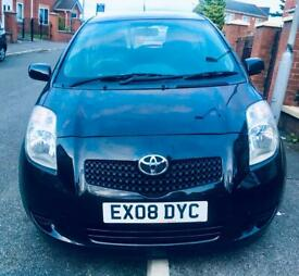 AUTOMATIC TOYOTA YARIS 1.3 VVT-I TR 3dr Hatchback Petrol,LOW MILES 67K,FULL SERVICE HISTORY.
