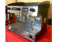 Espresso Coffee Machine Reconditioned Sanremo Amalfi 2 Group inc grinder